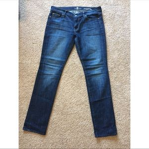 7 For All Mankind straight leg jeans size 32